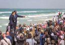 Macron à Saint-Louis du Sénégal promet l'aide de la France contre l'érosion